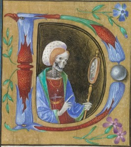 Book of Hours, Italy, ca. 1480. Za pośrednictwem http://discardingimages.tumblr.com/